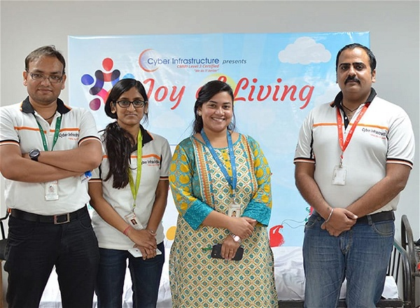 Blood Donation Camp- Joy of Living